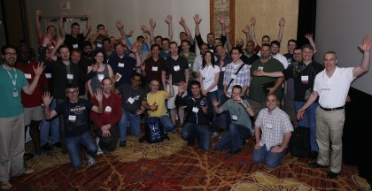 FounderCafe members at MicroConf